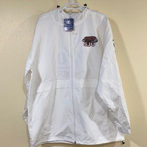 SJU Hawks, Men's XL, Drawstring Hood & Waist, w/ Pockets,